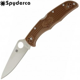 Нож Spyderco Endura 4 Lightweights Brown 10FPBN