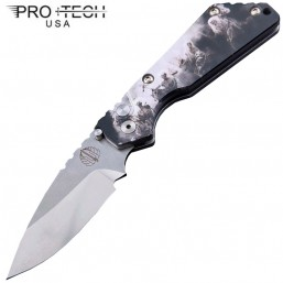Нож Pro-Tech Pro-Strider Mini SnG Auto Custom Ltd 2-Tone Finish Blade SnG-4H-S