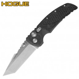 Нож Hogue EX-01 Auto Tanto Stonewash Black/Grey G10 34129TF