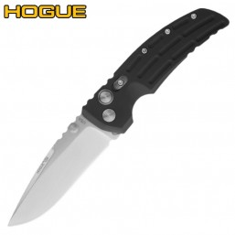 Нож Hogue EX-01 Auto Drop Point Stonewash Black 34130TF
