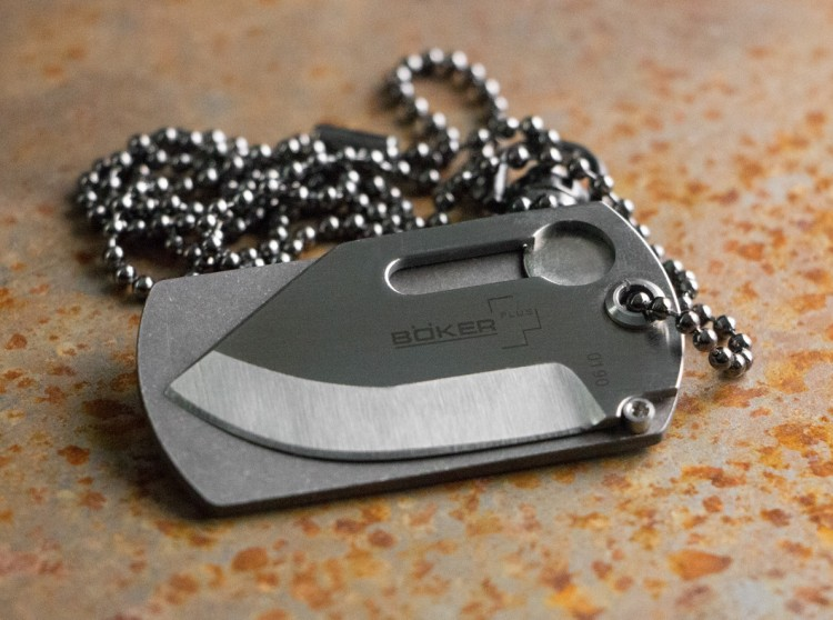 Нож Boker Dog Tag Knife 01bo210