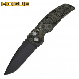 Нож Hogue EX-01 Auto Drop Point Green/Grey G-Mascus 34138BK