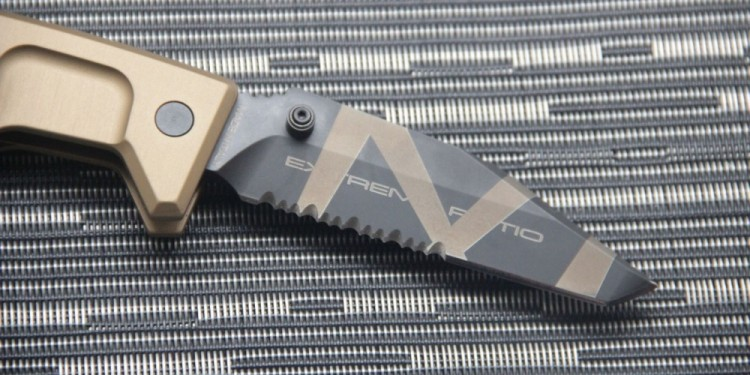 Нож Extrema Ratio Fulcrum II Tanto Desert Warfare