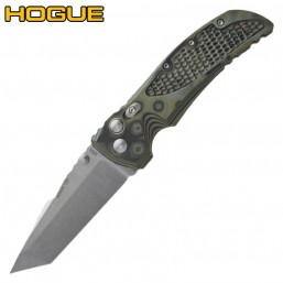 "Нож Hogue EX-01 Tanto 3.5"" Stonewash Green/Grey G10 34168TF"