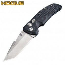 "Нож Hogue EX-01 Tanto 3.5"" Stonewash Black/Grey G10 34169TF"