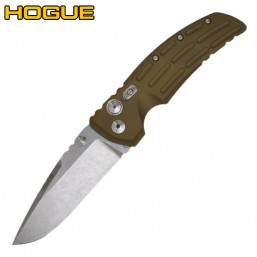 "Нож Hogue EX-01 Drop Point 4"" Stonewash Green 34151TF"