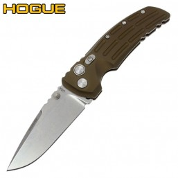 "Нож Hogue EX-01 Drop Point 3.5"" Stonewash Green 34171TF"