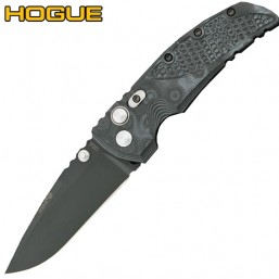 "Нож Hogue EX-01 Drop Point 3.5"" Black/Grey G10 34179BK"